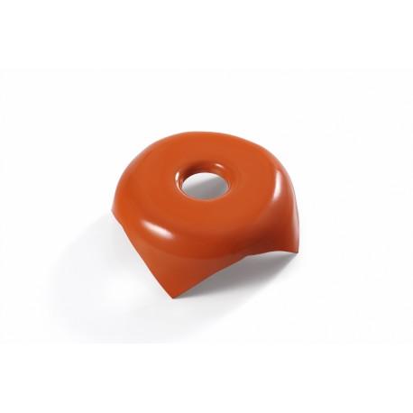 image: AC-Tête métallique orange sans inscription