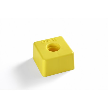image: Tête plastique jaune OGE