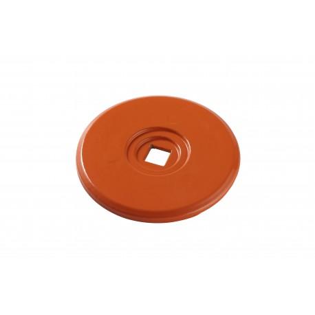image: RONDELLE D'ARPENTAGE 70 mm orange par 10