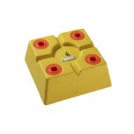 image: Tête polygonale XYZ 320mm X 320mm orange
