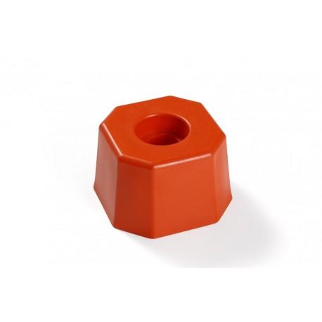 Tête plastique octogonale TR Ø85 - OGE