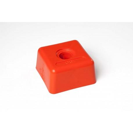 Tête plastique carrée 94 x 94 OGE - Diam. 25