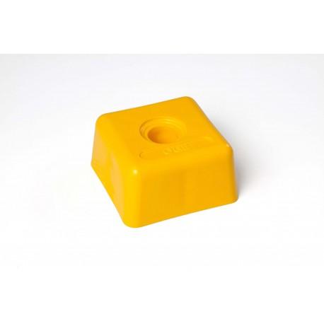 Tête plastique carrée 94 x 94 OGE - Diam. 31