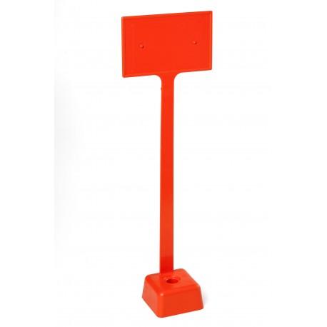 Tête plastique carrée OGE - Avec plaquette solidaire